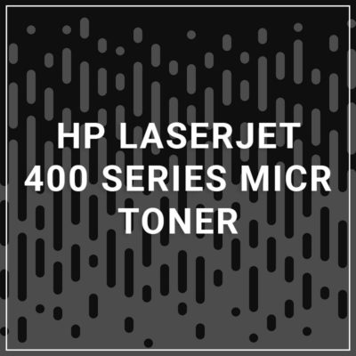 HP LaserJet 400 Series MICR Toner - 6,900 Pages