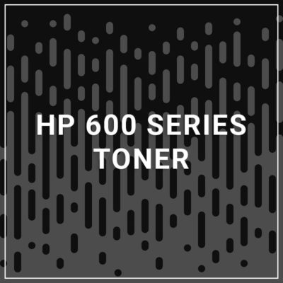 HP 600 Series Toner - 10,000 Pages