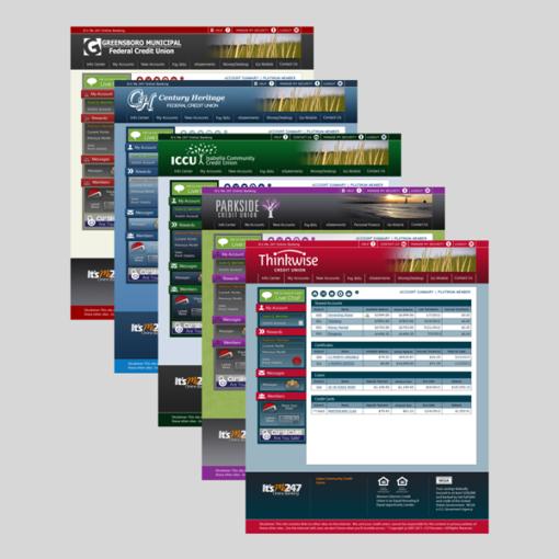 Custom It's Me 247 Online Banking Desktop Theme