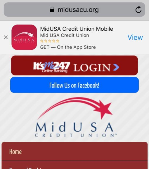 Mobile App Link Banners